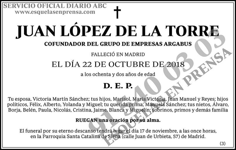 Juan López de la Torre